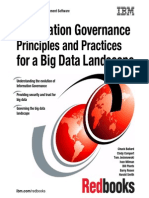 Information Governace Principle and Practices for a Big Data Landscape
