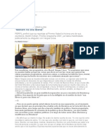 Perfil Entrevista a Vargas Llosa
