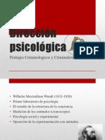 Exposicion de La Direccion Psicologica Para La Criminolohia