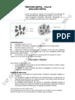 Uap - Amalgamas Dentales- Clase 06 en Modificación