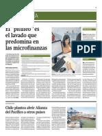Pitufeo Es El Lavado Que Predomina en Microfinanzas_Gestión 29-05-2014