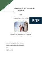 Psicologia Aristotelesyplaton