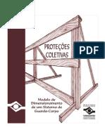Proteções Coletivas - Modelo de Dimensionamento de Um Sistema de Guarda-Corpo