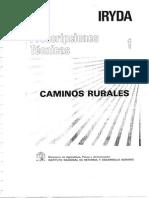 Prescripciones Técnicas-Caminos Rurales (IRYDA)