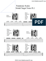 Pentatonic With Mod Altar Get Notes Pt 1
