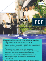 Philippine Sanitation Alliance Low Cost Wastewater Treatment Options by Lito Santos