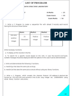 Data Structure Manual for BE students