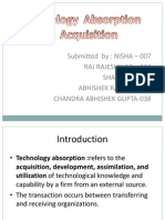 Technology Absorption and Acquisitionfinal