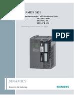 Manual Sinamics