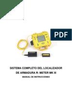 Localizador de Armadura R Meter MK III - Spanish - 20080904.pdf