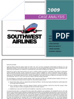 Southwest Airlines Possible Solution-HBR case