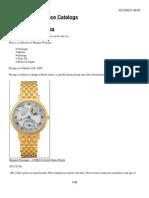 Breguet Watch Catalog 2008