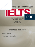 IELTS Tips and Strategies