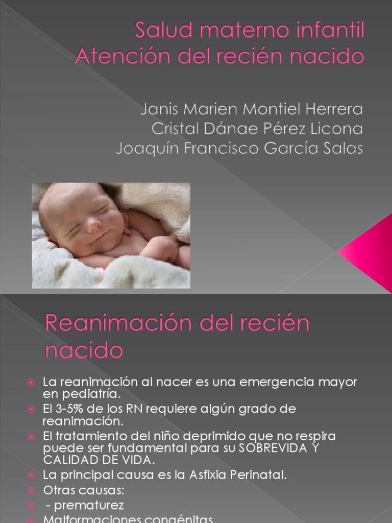 Salud Materno Infantil Nom 15   PDF   Infantes   Reanimación ...