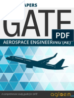 GATE Solved Question Papers for Aerospace Engineering [AE] by AglaSem.Com