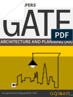 GATE Solved Question Papers for Architecture Engineering [AR] by AglaSem.Com
