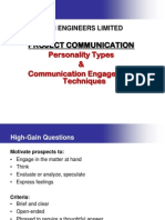 Personality Types & Engagement Techniques