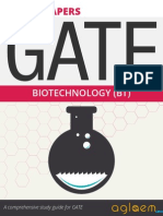 GATE Solved Question Papers for Bio Technology [BT] by AglaSem.Com