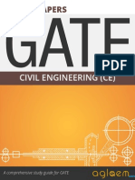 GATE Solved Question Papers for Civil Engineering [CE] by AglaSem.Com