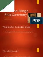 a-frame bridge final summary