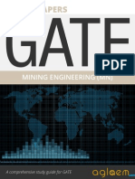 GATE Solved Question Papers for Mining Engineering [MN] by AglaSem.Com