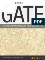 GATE Solved Question Papers for Textile Engineering and Fibre Science [TF] by AglaSem.Com