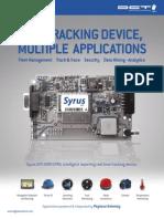 Brochure Syrus Gps