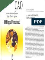 UNIDADE 1 AvaliacaoEntreDuasLogicas PhilippePERRENOUD
