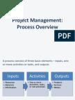 Project Management - Process