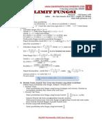 Modul Matematika Limit Fungsi