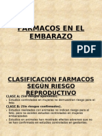 FARMACOS EMBARAZO