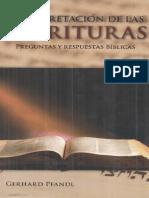 Adventista Gerhard Pfandl. Interpretación de Las Escrituras