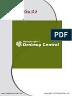 Desktop Central Admin Guide