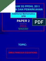 2QPPDHL AddMaths Paper 2