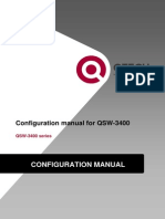 QSW-3400 Configuration Manual