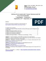 2009 Relatorio de Reuniao