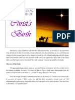 A Look at the Date of Christ Birth