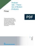 Rohde & Schwarz - Spectrum Analyzer Fundamentals - Theory and Opearation of Modern Spectrum Analyzers