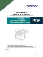 MFC 8890DW-Manual Servicio