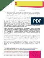 Comunicado Imdefensoras - Lapuya2014
