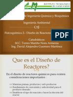 Diseño y Mecanismos de formulacion de Reactores Homogeneos