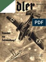 Der Adler - Jahrgang 1940 - Sonderdruck Juni 1940