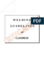 Welding Guidelines CuNi