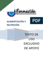 Texto Apoyo Alimentacion y Nutricion