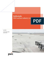Pwc Tailwinds Airline Industry Trends Issue 1