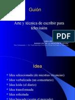 Doc Comparato - El Guion - Arte y Tecnica de Escribir Para Cine y Television (Resumen)