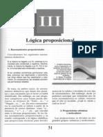 Nuevo Curso de Lógica y Filosofía - Guillermo A. Obiols - Capítulo III - Lógica proposicional