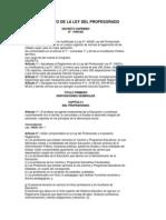 DS. 19-90-ED Reglamento de La Ley Del Profesorado