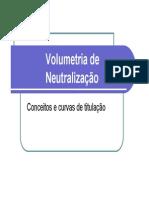 4- Volumetria de Neutralização