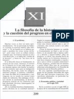 Nuevo Curso de Lógica y Filosofía - Guillermo A. Obiols - Capítulo XI - La filosofía de la historia y la cuestión del progreso  en el siglo XIX